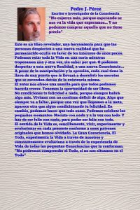 CONTRAPORTADA LIBRO LA SEMILLA UN LIBRO PARA RECORDAR www.librolasemilla.com ESCRITOR PEDRO J. PÉREZ